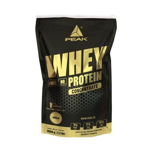 Peak Whey Protein Concentrate 1000g