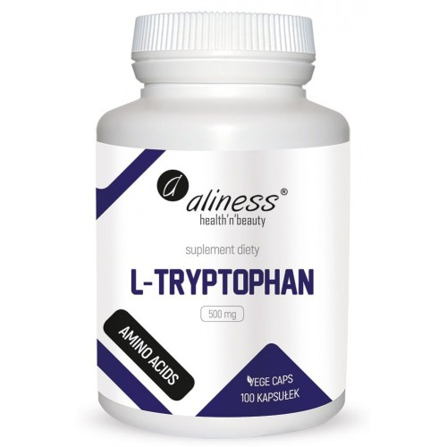 Aliness L-Tryptophan 500 mg 100 Vege caps